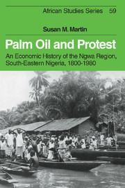Palm Oil and Protest