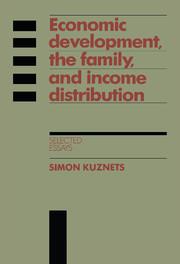 Economic Development, the Family, and Income Distribution
