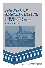 The Rise of Market Culture