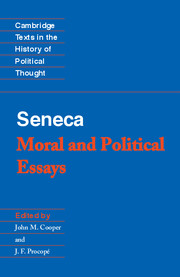 Seneca: Moral and Political Essays