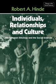 Individuals, Relationships and Culture