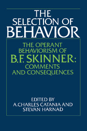 The Selection of Behavior