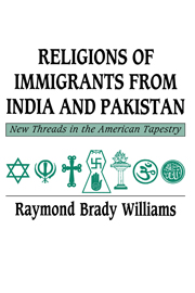 Religions of Immigrants from India and Pakistan