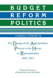 Budget Reform Politics
