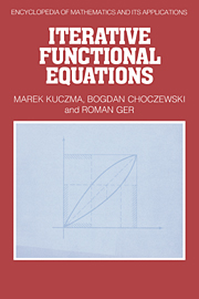 Iterative Functional Equations