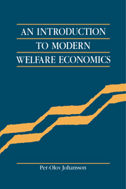 An Introduction to Modern Welfare Economics