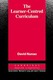 The Learner-Centred Curriculum