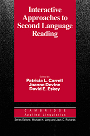 Interactive Approaches to Second Language Reading