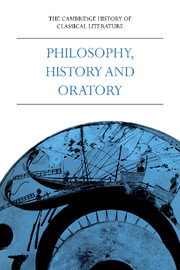 The Cambridge History of Classical Literature