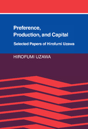 Preference, Production and Capital