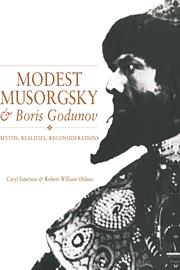 Modest Musorgsky and Boris Godunov
