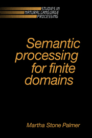 Semantic Processing for Finite Domains