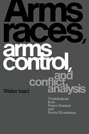 Arms Races, Arms Control, and Conflict Analysis