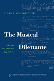 The Musical Dilettante