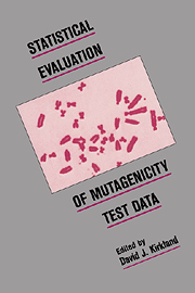 Statistical Evaluation of Mutagenicity Test Data