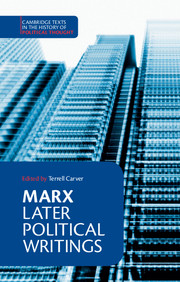 Marx: Later Political Writings