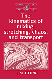 The Kinematics of Mixing