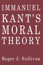 Immanuel Kant's Moral Theory