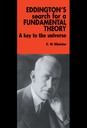 Eddington's Search for a Fundamental Theory