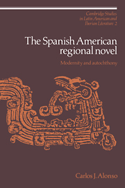 The Spanish American Regional Novel