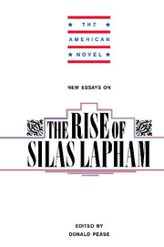 New Essays on The Rise of Silas Lapham