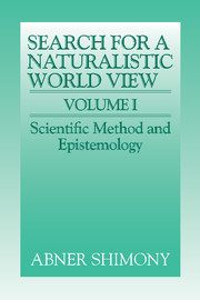 The Search for a Naturalistic World View