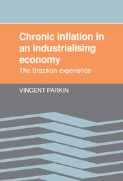 Chronic Inflation in an Industrializing Economy