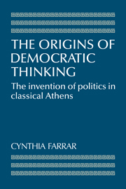 The Origins of Democratic Thinking
