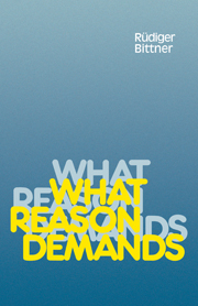 What Reason Demands