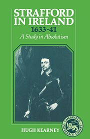 Strafford in Ireland 1633–1641