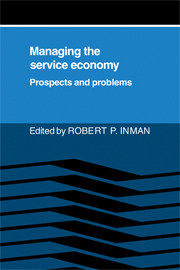 Managing the Service Economy: Prospects and Problems