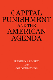 Capital Punishment and the American Agenda