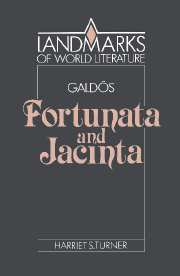 Galdós: Fortunata and Jacinta