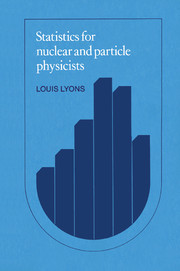 Statistics for Nuclear and Particle Physicists