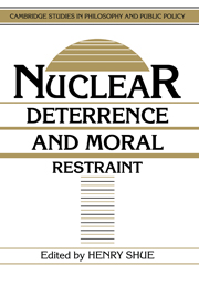 Nuclear Deterrence and Moral Restraint