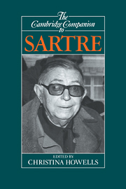 The Cambridge Companion to Sartre