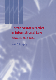 United States Practice in International Law