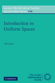 Introduction to Uniform Spaces