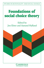 Foundations of Social Choice Theory