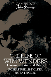 The Films of Wim Wenders