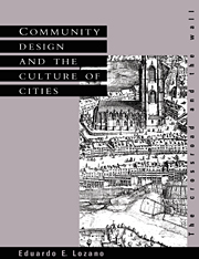 Community Design and the Culture of Cities