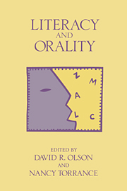 Literacy and Orality