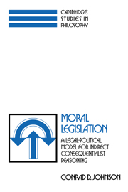 Moral Legislation