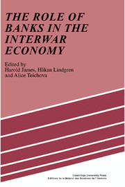 The Role of Banks in the Interwar Economy