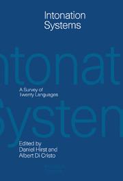 Intonation Systems