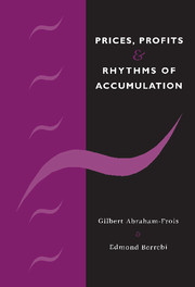 Prices, Profits and Rhythms of Accumulation