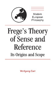 Frege's Theory of Sense and Reference