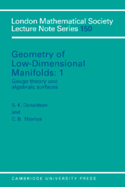 Geometry of Low-Dimensional Manifolds