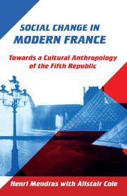 Social Change in Modern France