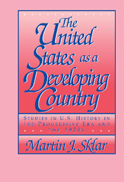 The United States as a Developing Country